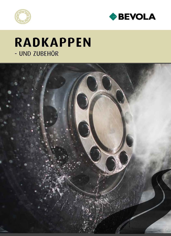 Radkappen Broschüre